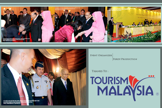 Majelis Santapan Malam Seri Paduka Baginda Yang di Pertuan Agong XIV    Seri Paduka Baginda Raja Permaisuri Agong                    for Malaysian Embassy