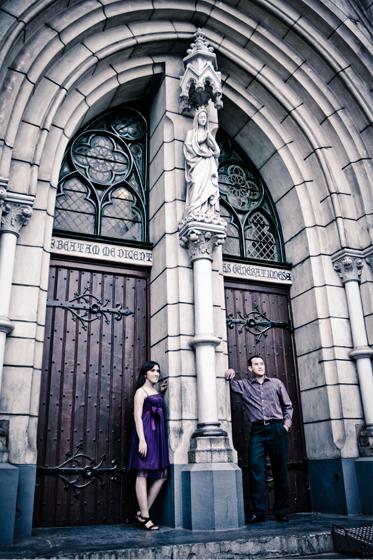Chytia dan Thomas @ Gereja Katedral Jakarta