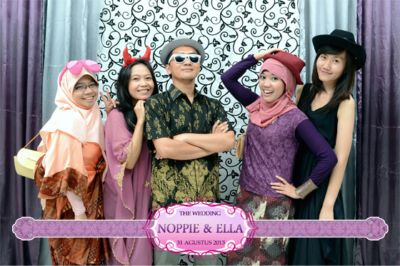 The Wedding Of Noppie dan Ella Gedung Jala Puspita Jakarta by Ferdy Production Photobooth