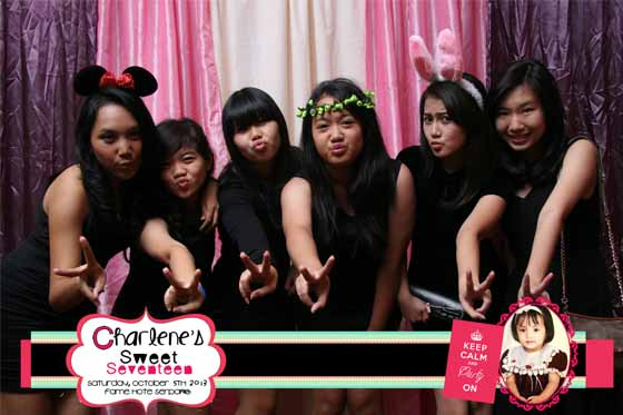 Sweet Seventeen Charlene Fame Hotel Serpong by Ferdy Production Photobooth