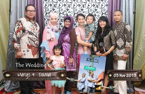 The Wedding Of Melys & Daniel By Ferdy Production Photobooth