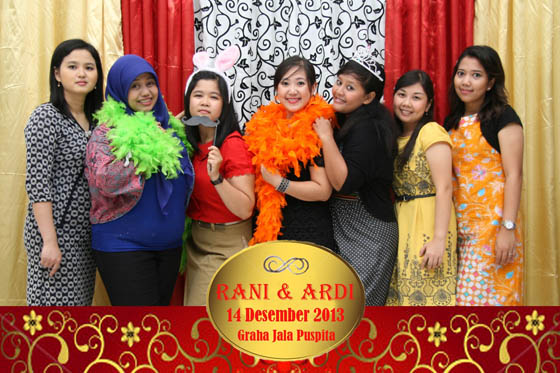 The Wedding Of Rani & Ardi Gedung Jala Puspita 14 Desember 2013 by Ferdy Production PhotoBooth
