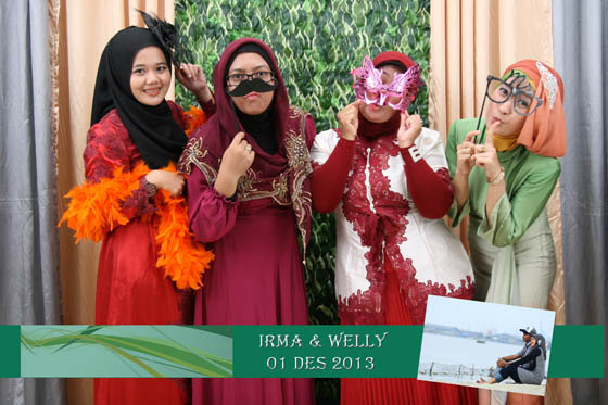 The Wedding Of Irma & Welly Gedung Perpustakaan Nasional Salemba 1 Desember 2013 By Ferdy Production Photobooth