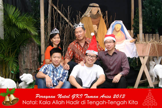 Perayaan Natal GKI Taman Aries 2013 25 Desember 2013 by Ferdy Production PhotoBooth