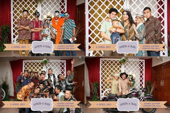 The Wedding Of Ajeng & Elgi Gedung Biotrop Bogor 06 April 2014